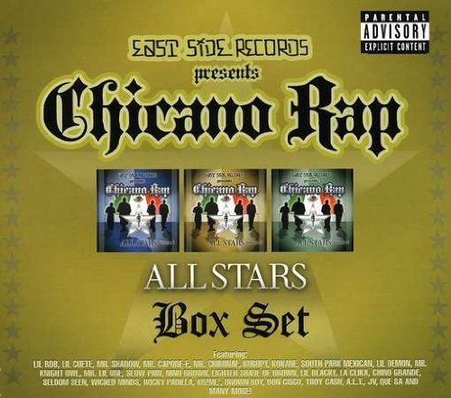 Chicano Rap All Stars Box Set Chicano Rap All Stars Box Set Explicit Version 3 CD