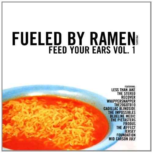 Fueled By Ramen Vol. 1 Feed Your Ears CD R Fueled By Ramen