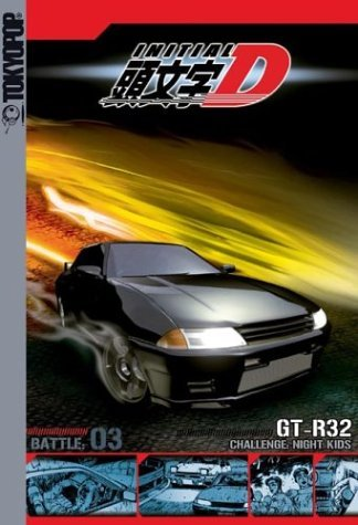 Initial D Vol. 3 Night Kids Clr Jpn Lng Eng Sub Nr