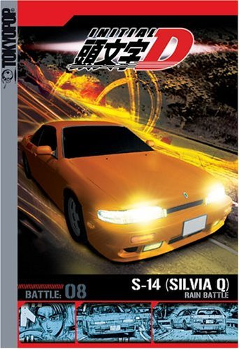 Initial D Vol. 8 Battles In The Rain Clr Nr