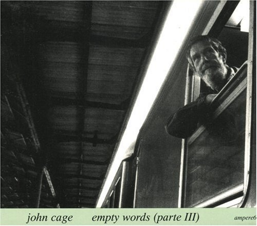 Cage John Empty Words