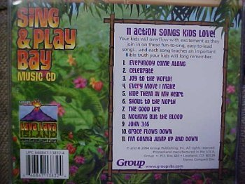 Group Publishing Lava Lava Island Sing & Play Bay Music CD