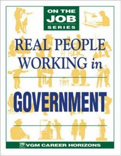 Blythe Camenson Real People Working In Government