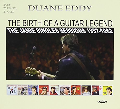 Eddy Duane Birth Of A Guitar Legend Jamie 3 CD