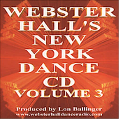 New York Dance Vol. 3 New York Dance Bolland Dano Boy George Nrgy New York Dance