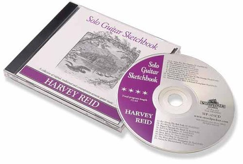 Harvey Reid Solo Guitar Sketchbook