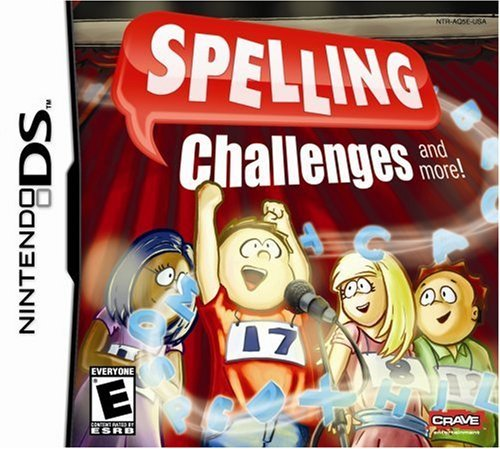 Nintendo Ds Spelling Challenges Crave E