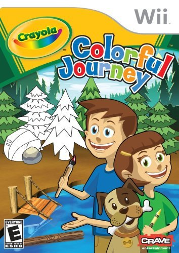 Wii Crayola Adventures Colorful Wo