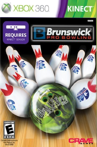 Xbox 360 Brunswick Pro Bowling Can Only Be Used With Kinect