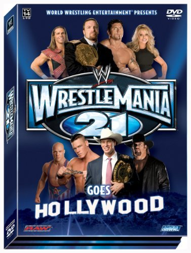 Wrestlemania 21 Wwe Clr Nr 2 DVD