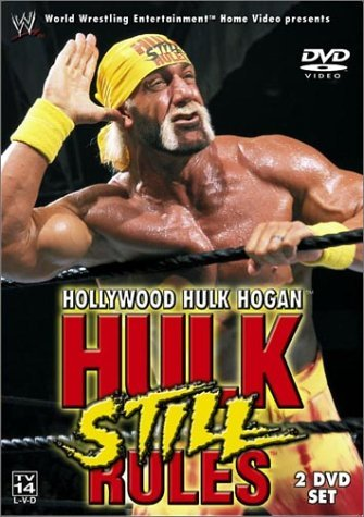 Wwe Hollywood Hulk Hogan Hulk Still Rules Clr Prbk 07 31 02 Nr