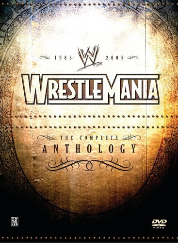 Wwe Wrestlemania Anthology Clr Nr 21 DVD Set
