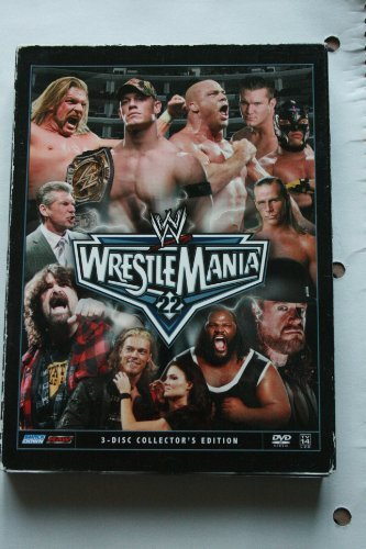 Wwe Wrestle Mania 3 Disc Collector's Edition