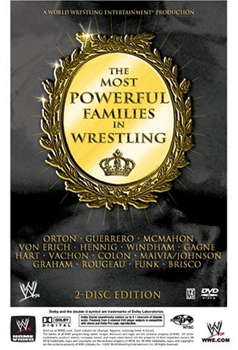 Most Powerful Families In Wres Wwe Nr 2 DVD