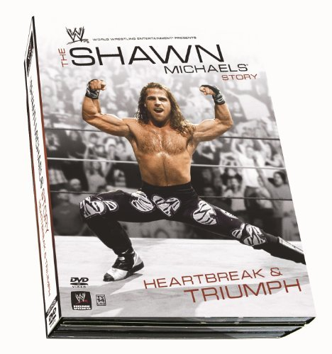Shawn Michaels Heartbreak & T Wwe Digipak Tv14 3 DVD