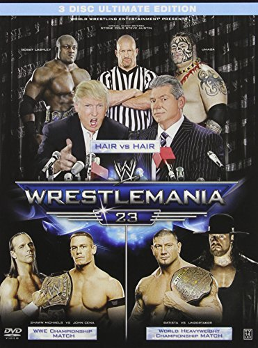 Wrestlemania 23 Wwe Clr Ultimate Coll. Ed. Nr 3 DVD