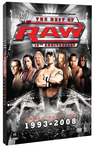 Raw 15th Anniversary Wwe Tv14 3 DVD
