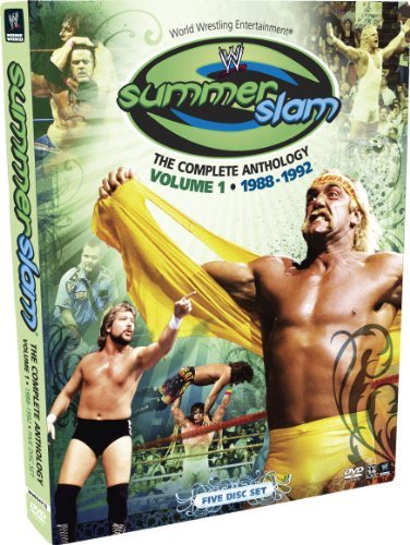 Vol. 1 Summerslam Anthology Wwe Tv14 5 DVD