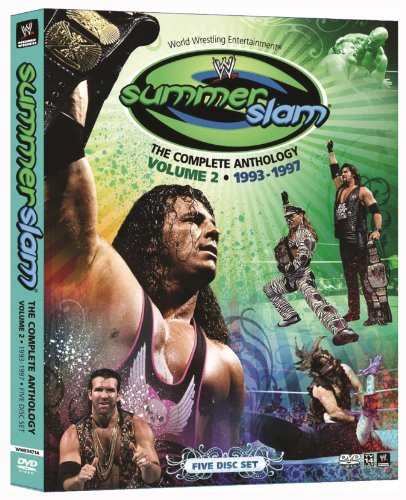 Vol. 2 Summerslam Anthology Wwe Tv14 5 DVD