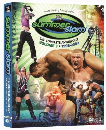 Vol. 3 Summerslam The Complete Wwe Tv14 5 DVD