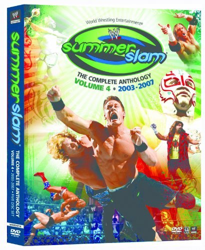Vol. 4 Summerslam The Complete Wwe Tv14 5 DVD