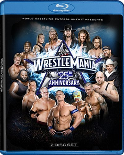 Wrestlemania 25 Wwe Blu Ray Ws Tvpg