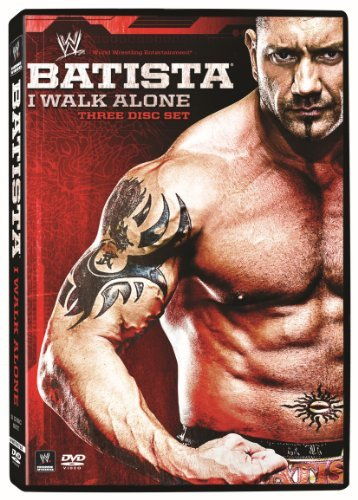 Batista I Walk Alone Wwe Tvpg 3 DVD