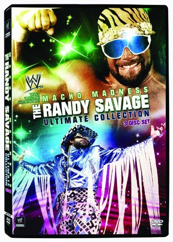 Macho Madness Randy Savage Ul Wwe Tv14 3 DVD