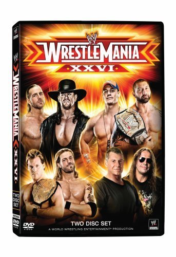 Wrestlemania 26 Wwe Tvpg 2 DVD