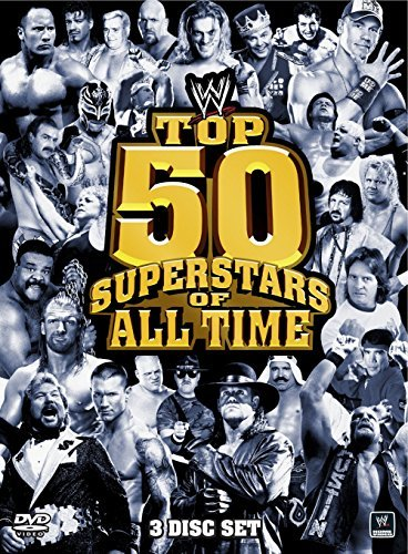 Top 50 Superstars Of All Time Wwe Tvpg 3 DVD
