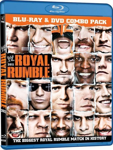 Royal Rumble 2011 Wwe Blu Ray Ws Tvpg Incl. DVD