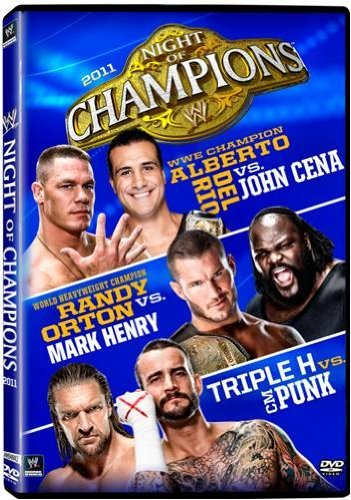 Night Of Champions 2011 Wwe Tvpg