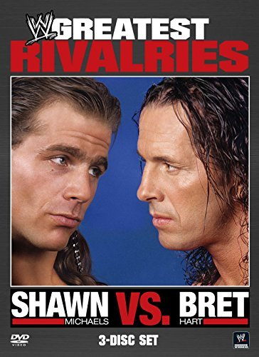 Shawn Michaels Vs. Bret Hart Wwe Tvpg 3 DVD
