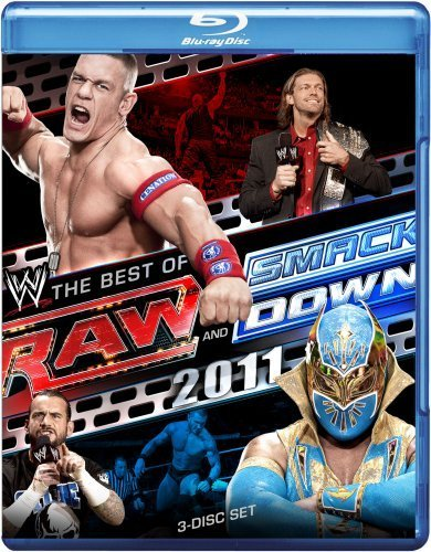 Wwe Raw & Smackdown The Best Of 2 Ws Blu Ray Tvpg 3 DVD