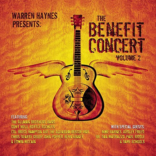 Warren Haynes Vol. 2 Benefit Concert 2 CD Set