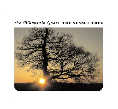 Mountain Goats Sunset Tree