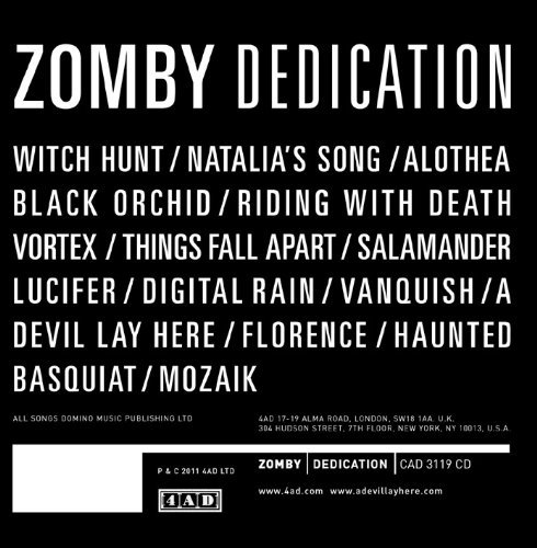 Zomby Dedication