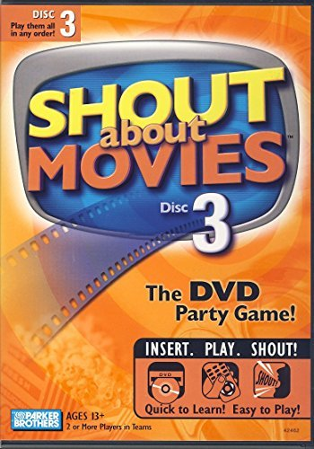 DVD Game Shout About Movies Vol. 3