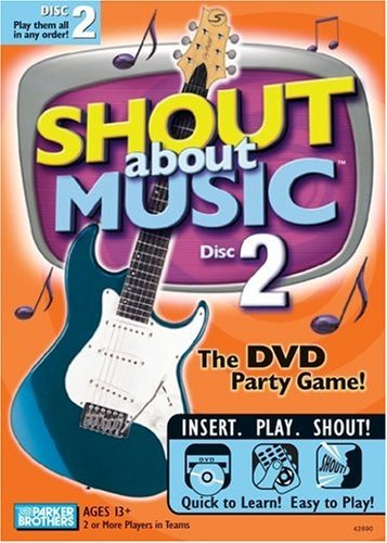 DVD Game Shout About Music 2