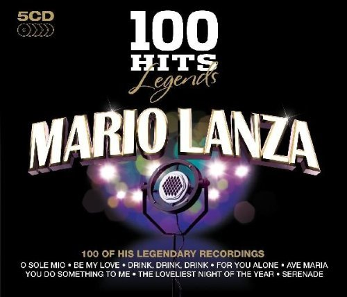 Mario Lanza 100 Hits Legends Mario Lanza Import Gbr 5 CD