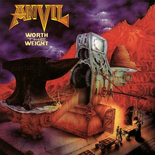 Anvil Worth The Weight Remastered Digipak