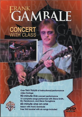 Frank Gambale Concert With Frank Gambale Nr