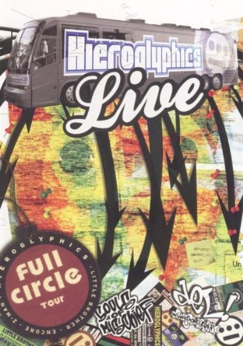 Hieroglyphics Full Circle Tour Live Explicit Version Amaray Incl. Bonus CD