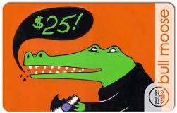 Gift Card $25 Crocodile