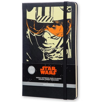 Moleskine Moleskine 2015 2016 Star Wars Limited Edition Week