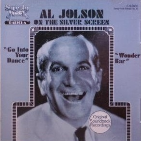 Al Jolson Al Jolson On The Silver Screen