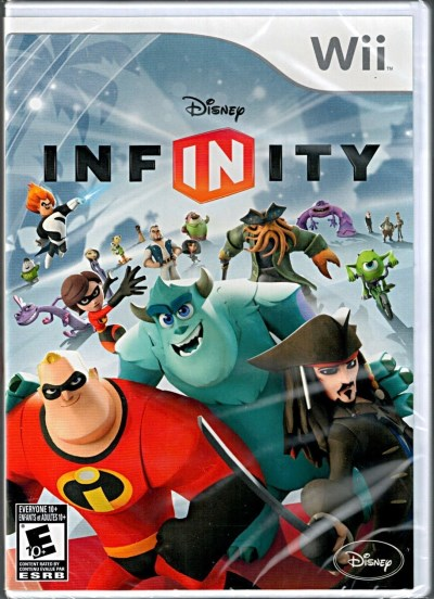 Wii Disney Infinity Software Only