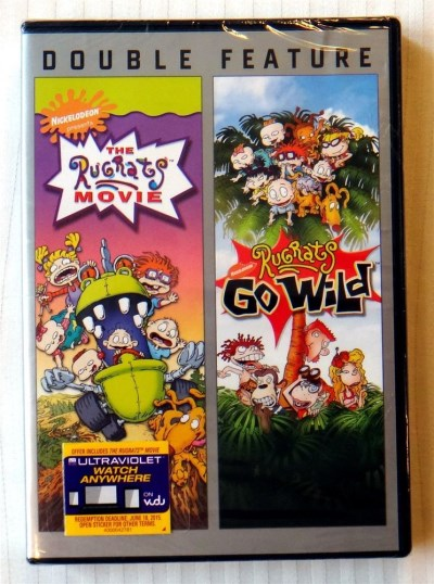 Rugrats Go Wild The Rugrats Movie Double Feature