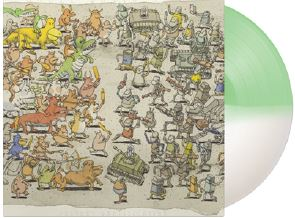 Dance Gavin Dance Instant Gratification (half White & Half Doublemint Vinyl) Limited To 500 Copies Rise Records Head Start To Record Store Day
