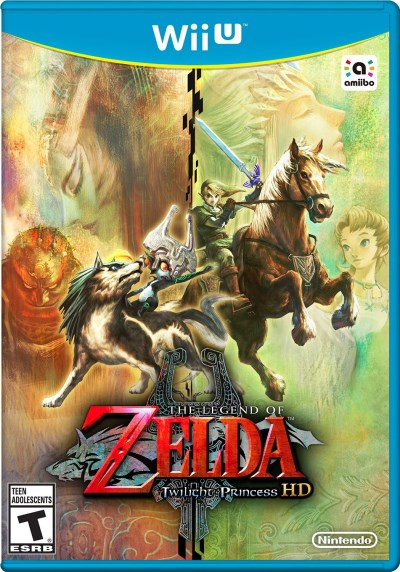 Wii U Legend Of Zelda Twilight Princess Hd **game Only**